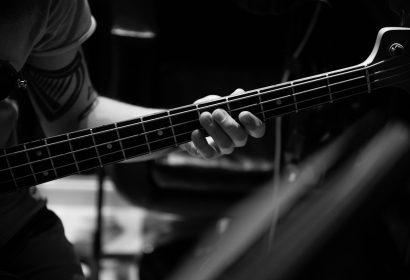 The Sun recording studio - Matteo particolare basso