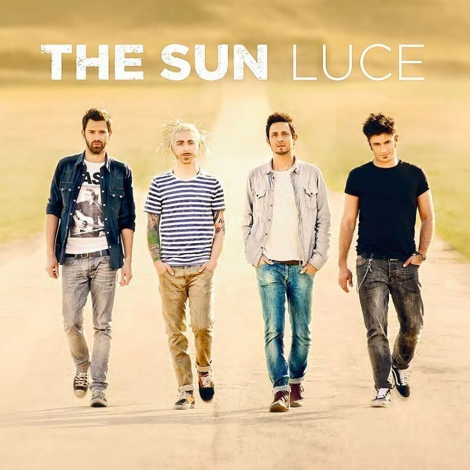 The Sun rock band Luce cover