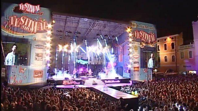 The Sun Festival Show Live canzone onda perfetta