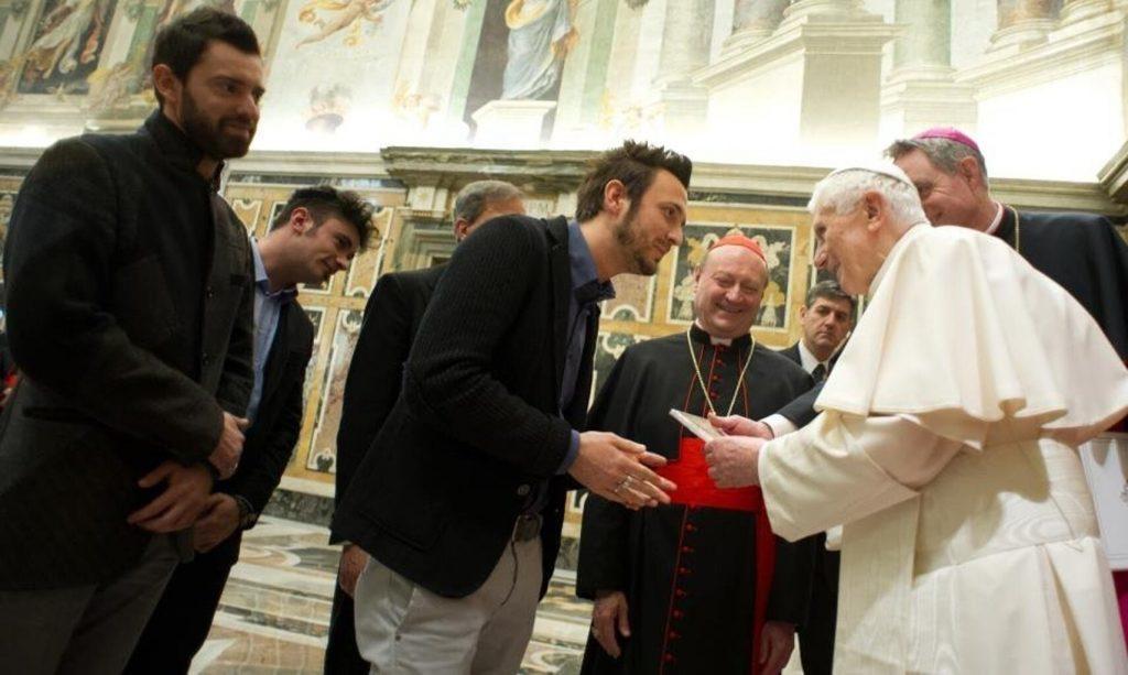 The Sun con Papa Benedetto XVI