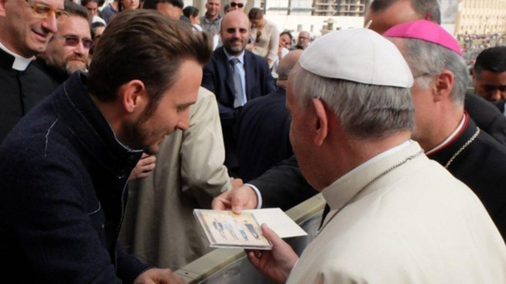 Francesco con Papa Francesco