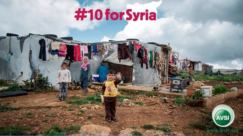 The Sun 10 For Syria