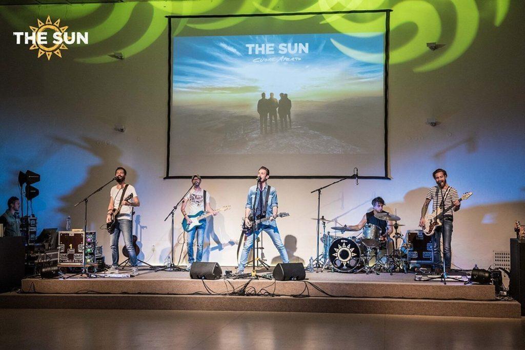 The Sun rock band live a Bratislava