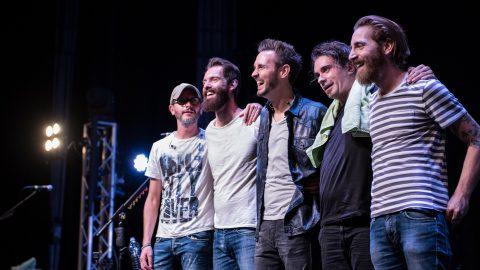 The Sun gruppo rock live Lugano Svizzera