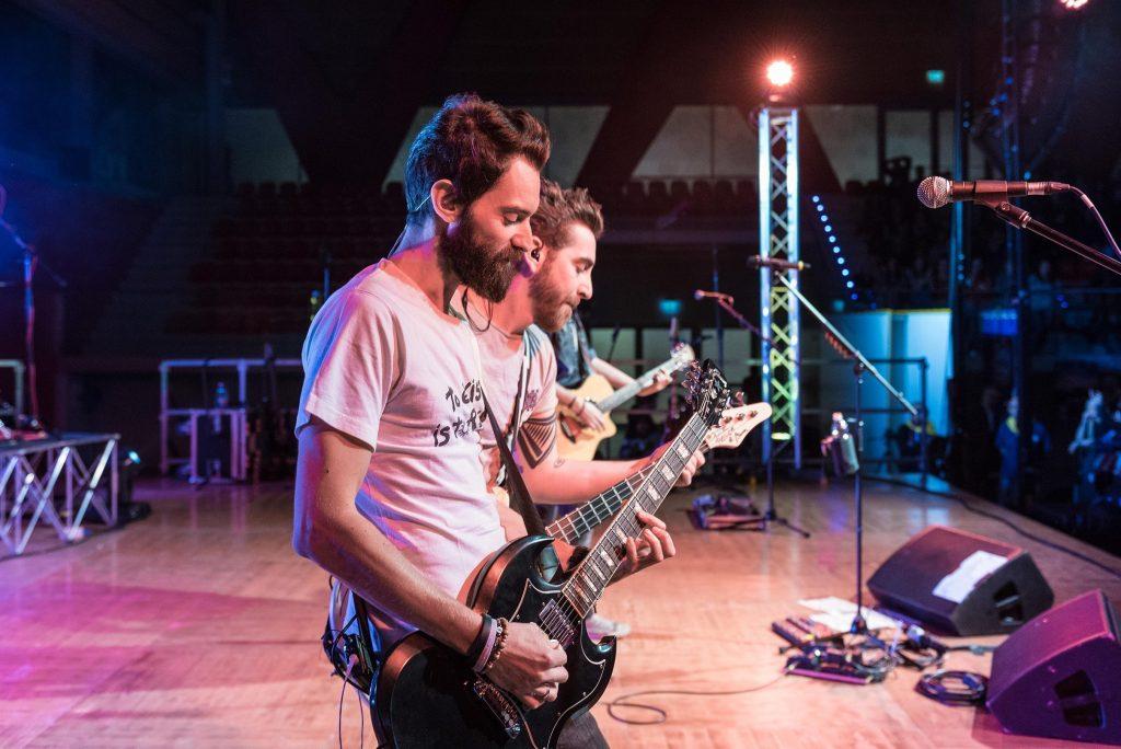 The Sun rock band live a Bassano del Grappa
