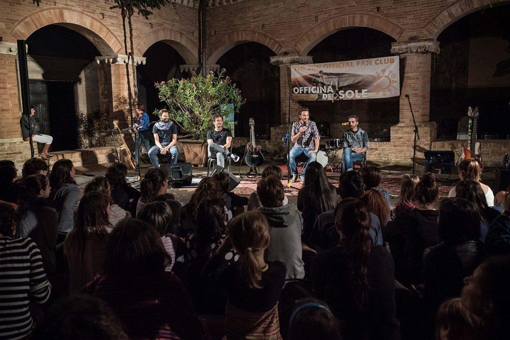 The Sun rock band Officina del Sole