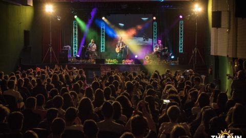 The Sun rock band live a Lonato del Garda