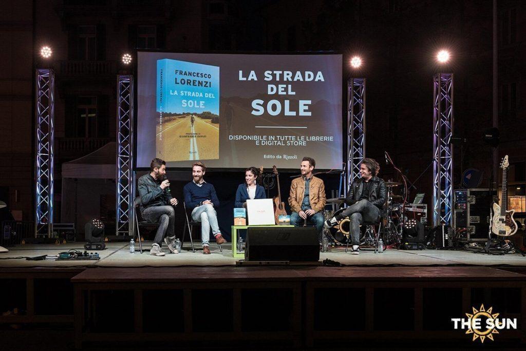 The Sun rock band live a Lugano