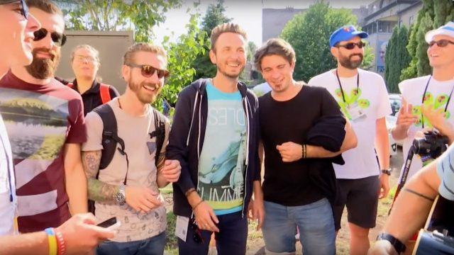 the sun rock band intervista gig di cracovia