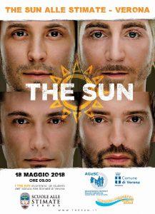 the sun locandina evento scuola verona