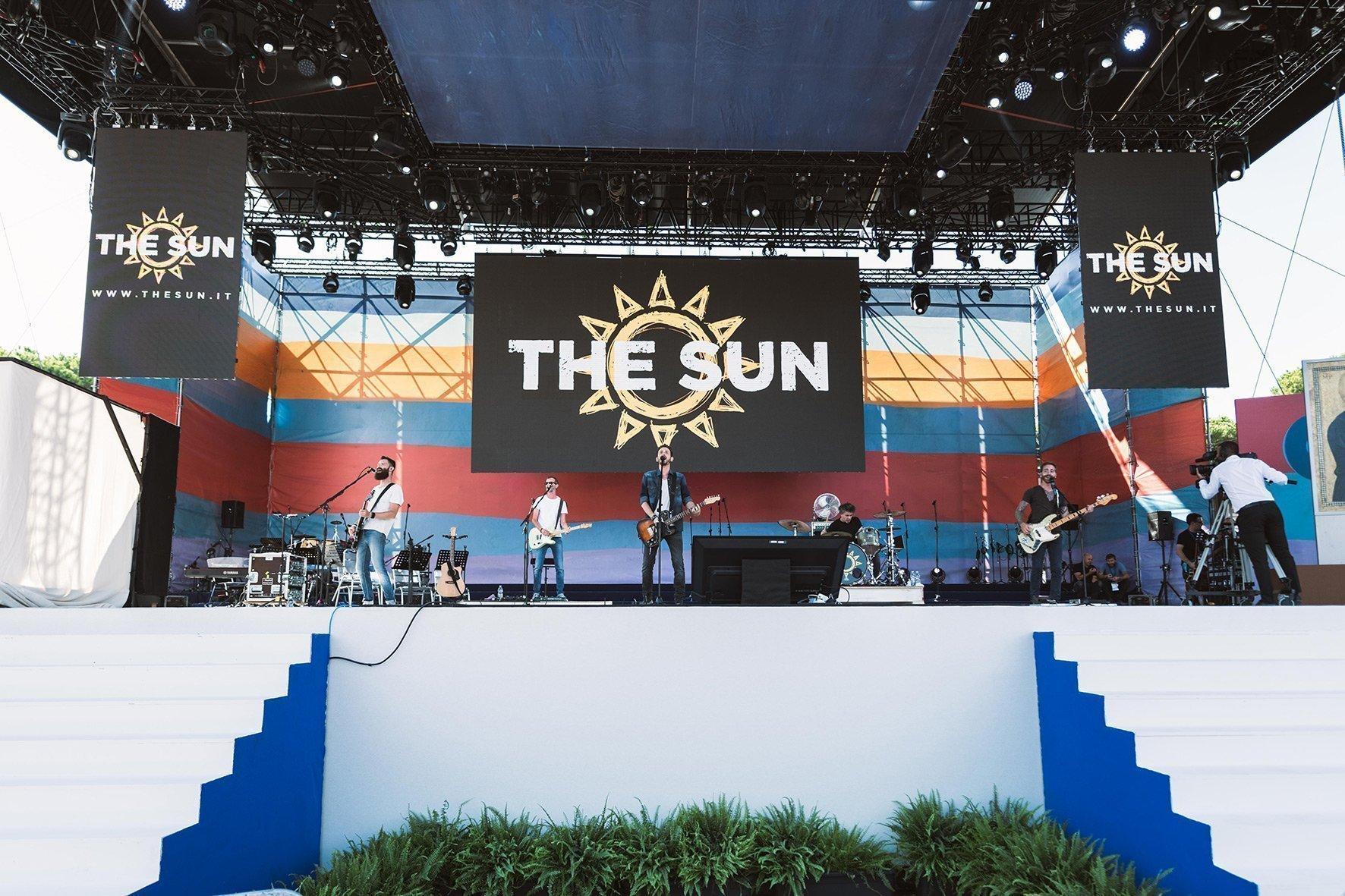 the sun live al circo massimo con papa francesco