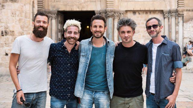 the sun gruppo rock in terra santa al santo sepolcro