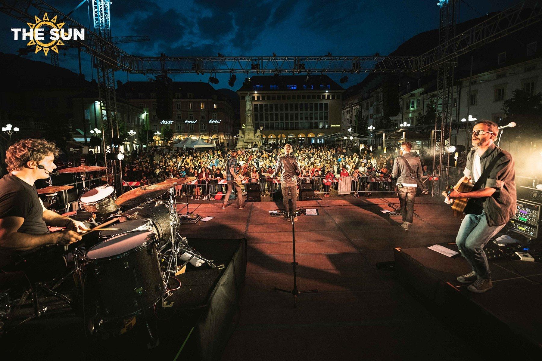 the sun rock band live bolzano