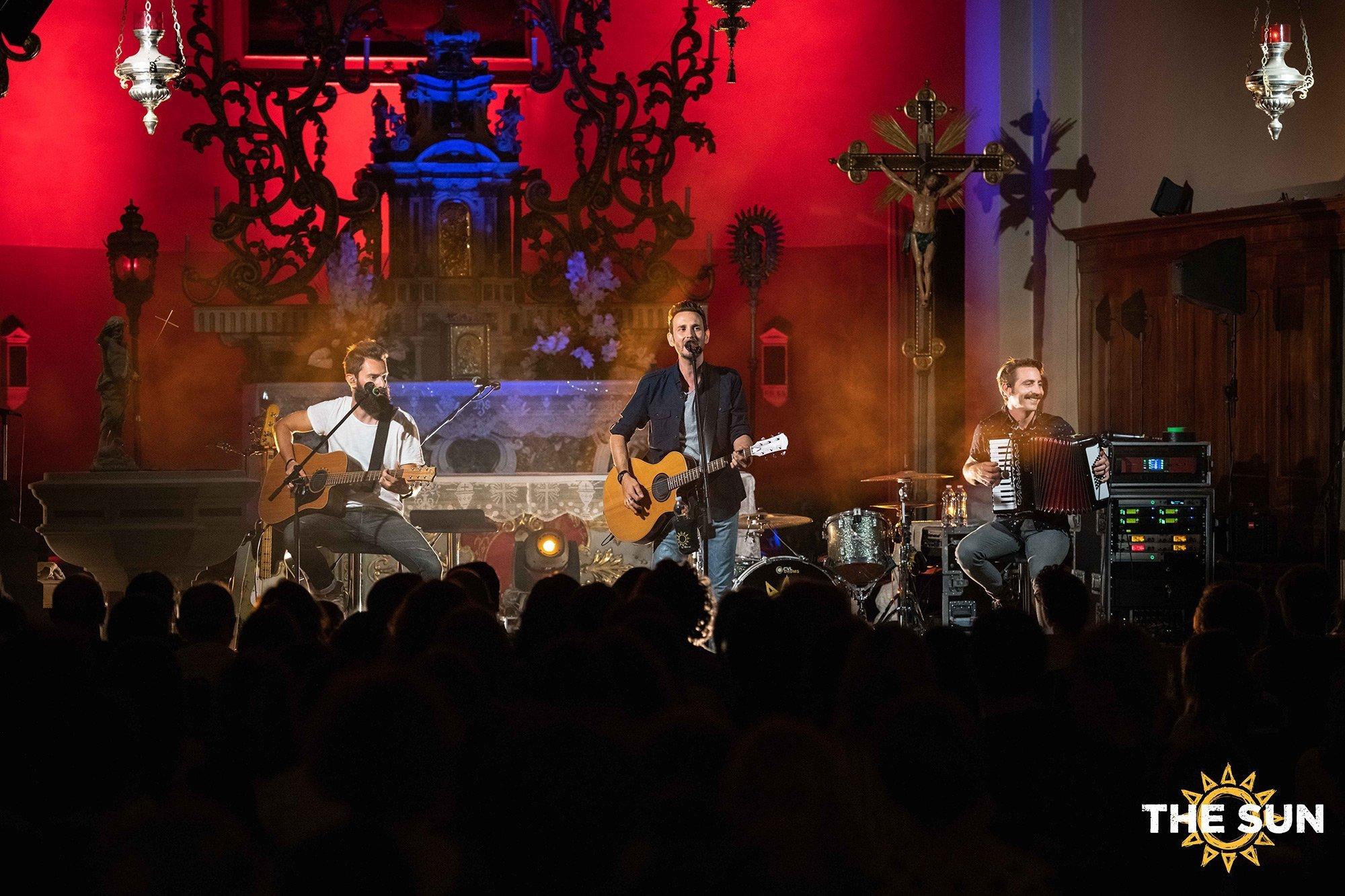 the sun rock band live longare dialogo