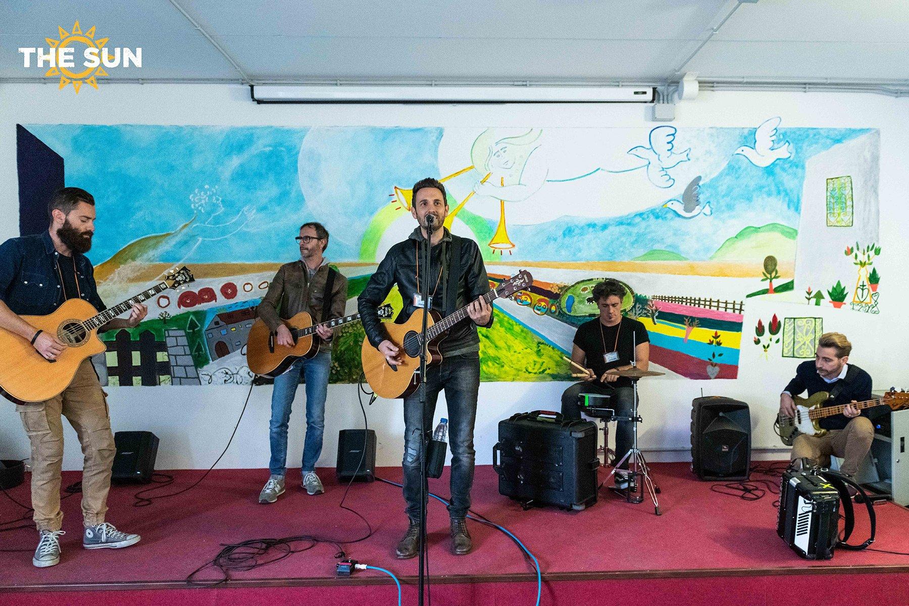 the sun rock band carcere vicenza