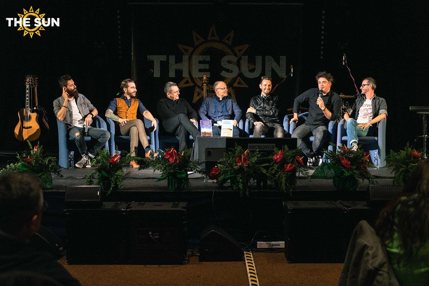 the sun rock band live roma cei