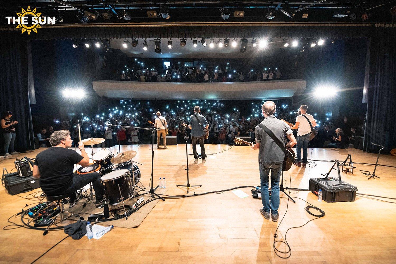 the sun rock band viaggi di luce giordania