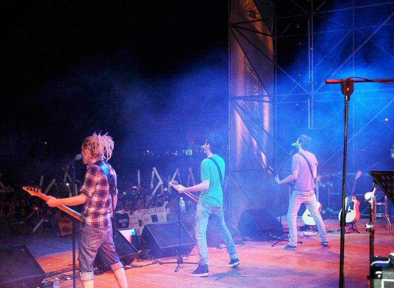the sun rock band live spiriti del sole