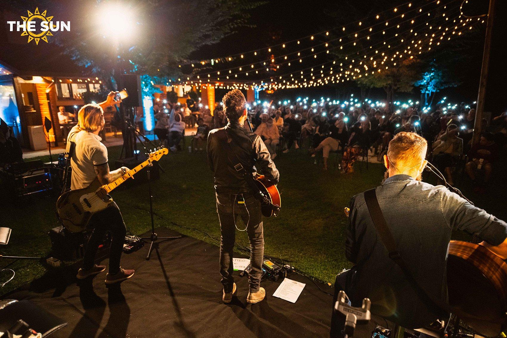 the sun rock band live bassano del grappa