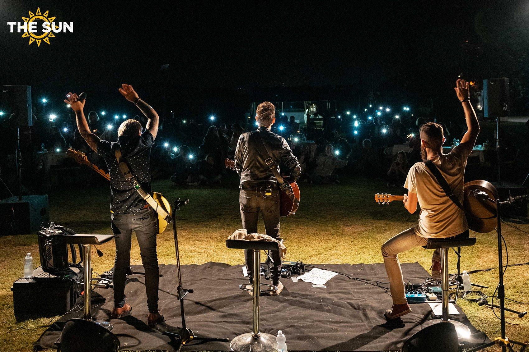 the sun rock band live cesenatico