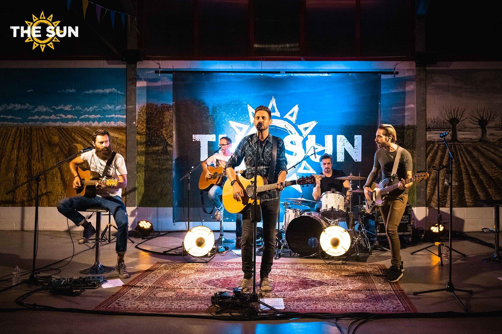 the sun rock band live istrana