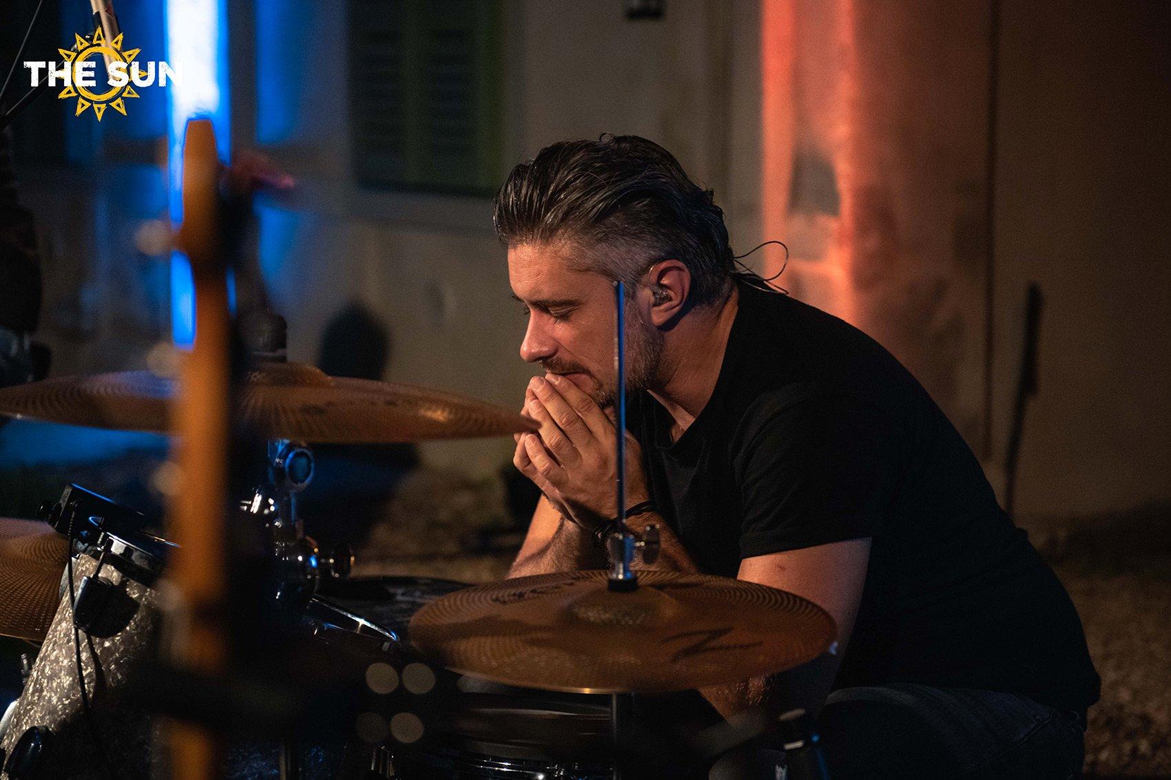 the sun rock band live torino