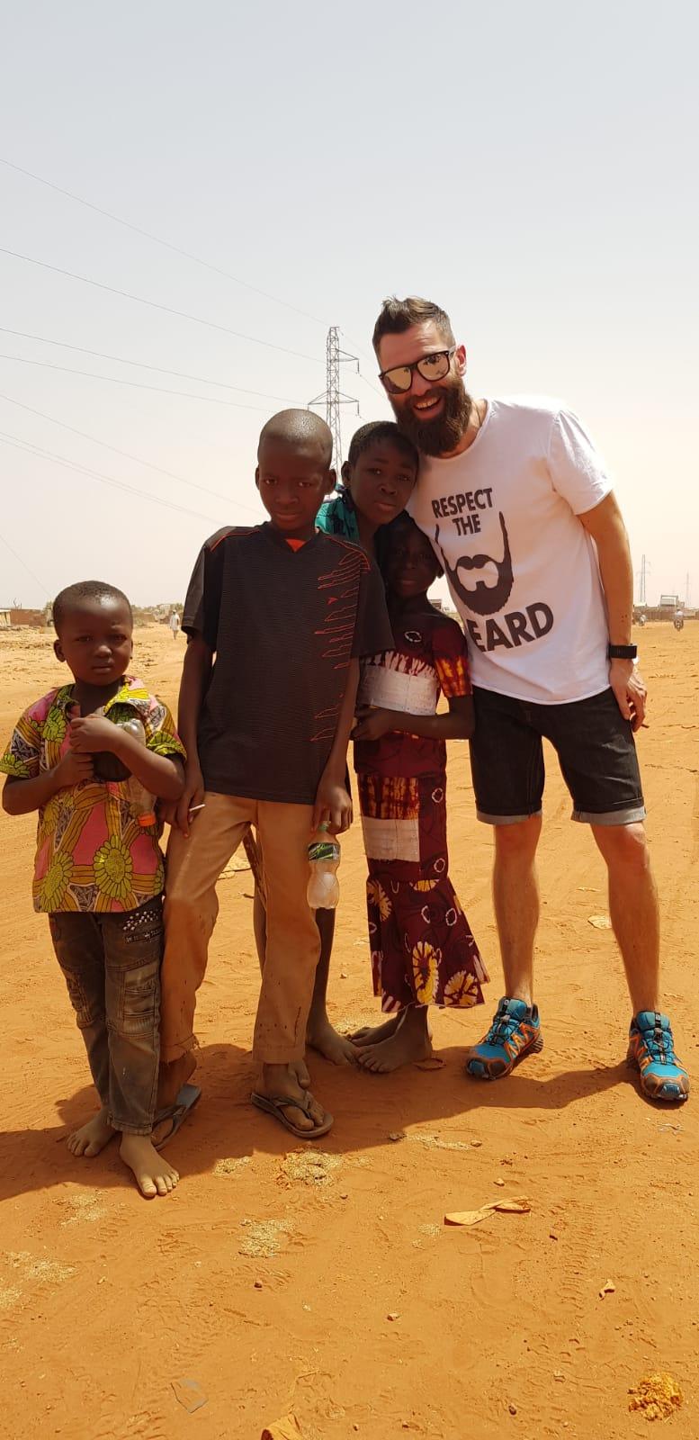 the sun rock band gianluca in africa
