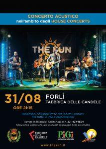 the sun rock band house concert furl