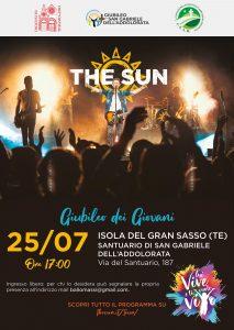 the sun rock band house concert teramo