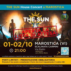 the sun rock band concerto marostica