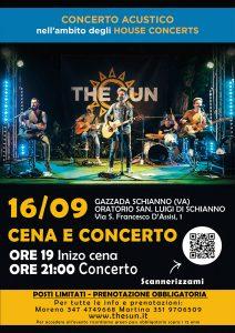 the sun rock band concerto varese