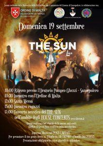 the sun rock band house concert sansepolcro