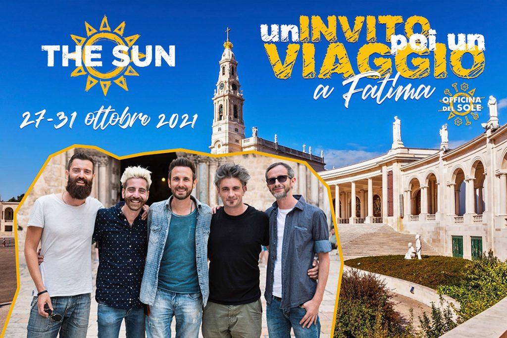 the sun rock band un invito poi un viaggio a fatima