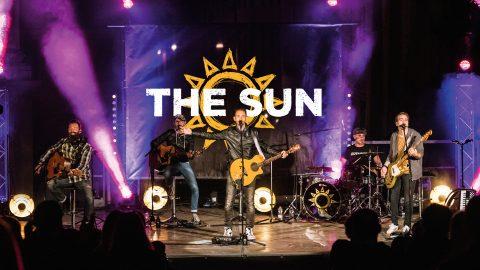the sun rock band live