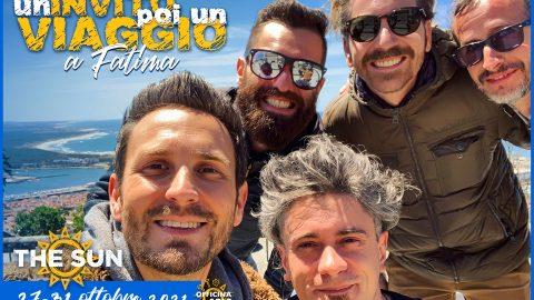 the sun rock band un invito poi un viaggio a fatima 2021